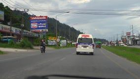 Autostrada Phuket wyspa zbiory wideo