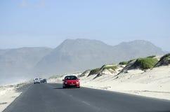 Autostrada piaska przelotne diuny w Południowa Afryka Zdjęcie Royalty Free