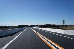 Autostrada przed otwierać Obrazy Stock