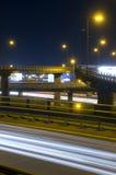 autostrada przez przełęcz Fotografia Royalty Free