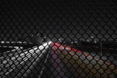 Autostrada Przy nocą Zdjęcia Royalty Free