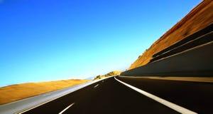 autostrada ruch Obrazy Royalty Free