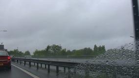 Autostrada ruch drogowy w UK zbiory