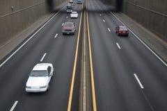 autostrada ruchu Obraz Royalty Free