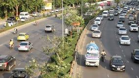 Autostrada ruchu drogowego napędowy dżem zdjęcie wideo
