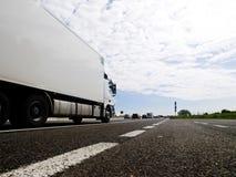 Autostrada ruchu drogowego sceneria Zdjęcia Stock