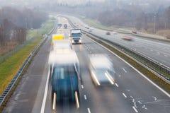 autostrada ruchu miejskiego życia Obrazy Stock