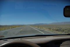 autostrada samotna Zdjęcia Royalty Free