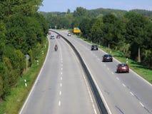 Autostrada senza pedaggio Immagine Stock