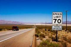 Autostrada senza pedaggio Fotografia Stock