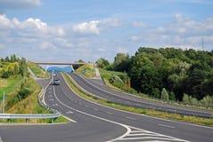 Autostrada senza pedaggio fotografia stock libera da diritti