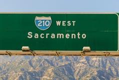 Autostrada senza pedaggio 210 Immagini Stock Libere da Diritti