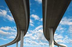 Autostrada senza pedaggio di Los Angeles Immagine Stock