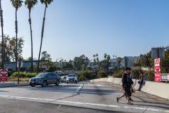 autostrada senza pedaggio 101 a Los Angeles Immagine Stock Libera da Diritti