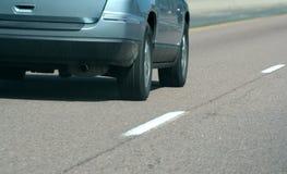 Autostrada senza pedaggio SUV Fotografia Stock Libera da Diritti