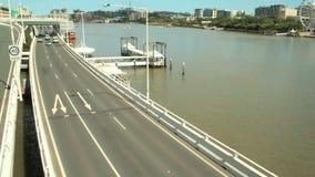 Autostrada senza pedaggio Timelapse di Brisbane archivi video