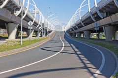 Autostrada senza pedaggio vuota Immagine Stock