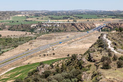 autostrada Spain Obrazy Stock