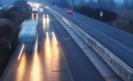 Autostrada transport Obrazy Royalty Free