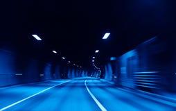 autostrada tunel Fotografia Royalty Free