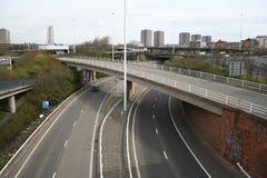 Autostrada urbana fotografia stock