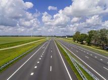 Autostrada vuota Immagini Stock