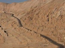 Autostrada w Atacama Pustyni - Chile Fotografia Royalty Free