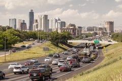 Autostrada w Austin, Teksas fotografia stock