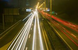 Autostrada w Belgrade 3 obraz stock