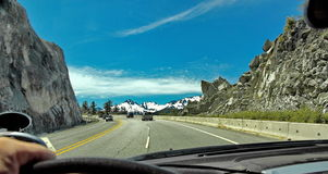 Autostrada w górach Zdjęcie Stock