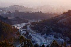 Autostrada w górze Obrazy Stock