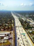 Autostrada w Miami Obrazy Royalty Free