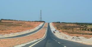 Autostrada w Nha Trang, Wietnam zdjęcia stock