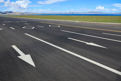 Autostrada w Tibet Obrazy Stock
