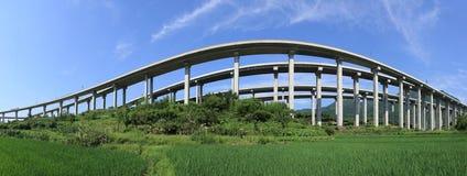 autostrada wiadukt Obrazy Royalty Free