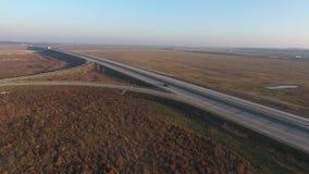 Autostrada widzieć od above zbiory