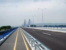 autostrada Zagrzebia pusta fotografia stock