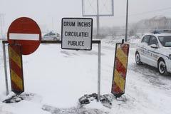 Autostrada zamykająca Zdjęcie Stock