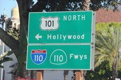 Autostrada znak Zdjęcia Stock