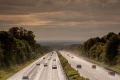 Autostrady biedy widoczność zdjęcia royalty free