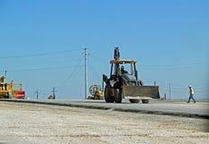 Autostrady budowa na Teksas stanu autostradzie 26 Zdjęcia Royalty Free