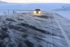 autostrady burza obrazy royalty free