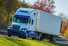 autostrady ciężarówka obraz stock