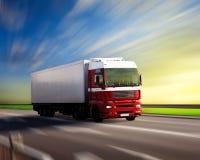 autostrady ciężarówka Zdjęcia Royalty Free