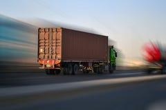 autostrady ciężarówka Obrazy Stock