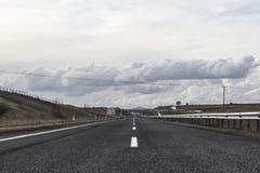 Autostrady droga obraz royalty free