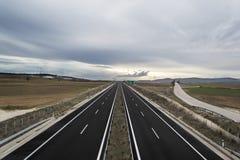 Autostrady droga obrazy stock