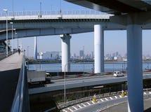 autostrady futurystyczny wsparcia Obrazy Royalty Free