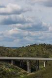 autostrady gór widok Fotografia Royalty Free