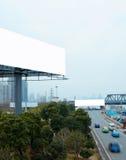 Autostrady i billboardy Zdjęcia Royalty Free
